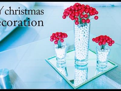 2 minutes easy Christmas craft | DIY Christmas home decor | Christmas winter decoration ideas 2016