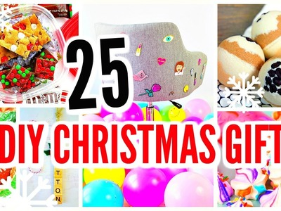 25 DIY Christmas Gifts! Holiday Gift Ideas & Presents!