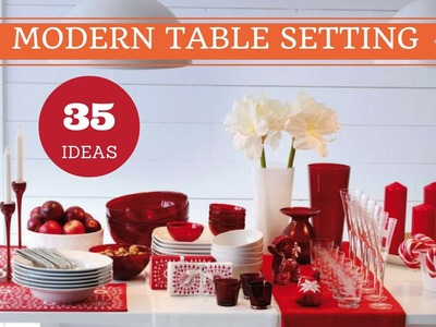 35 Modern Table Setting Ideas to Wow Your Guests | Table Decorating Ideas