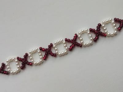 5 minutes bracelet for beginners . xoxox bracelet