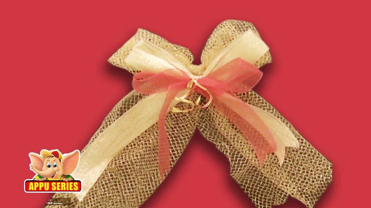 Arts & Crafts - Decorative Fabric Bow