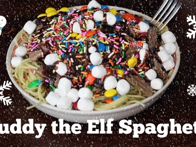 Buddy the Elf's Spaghetti challenge