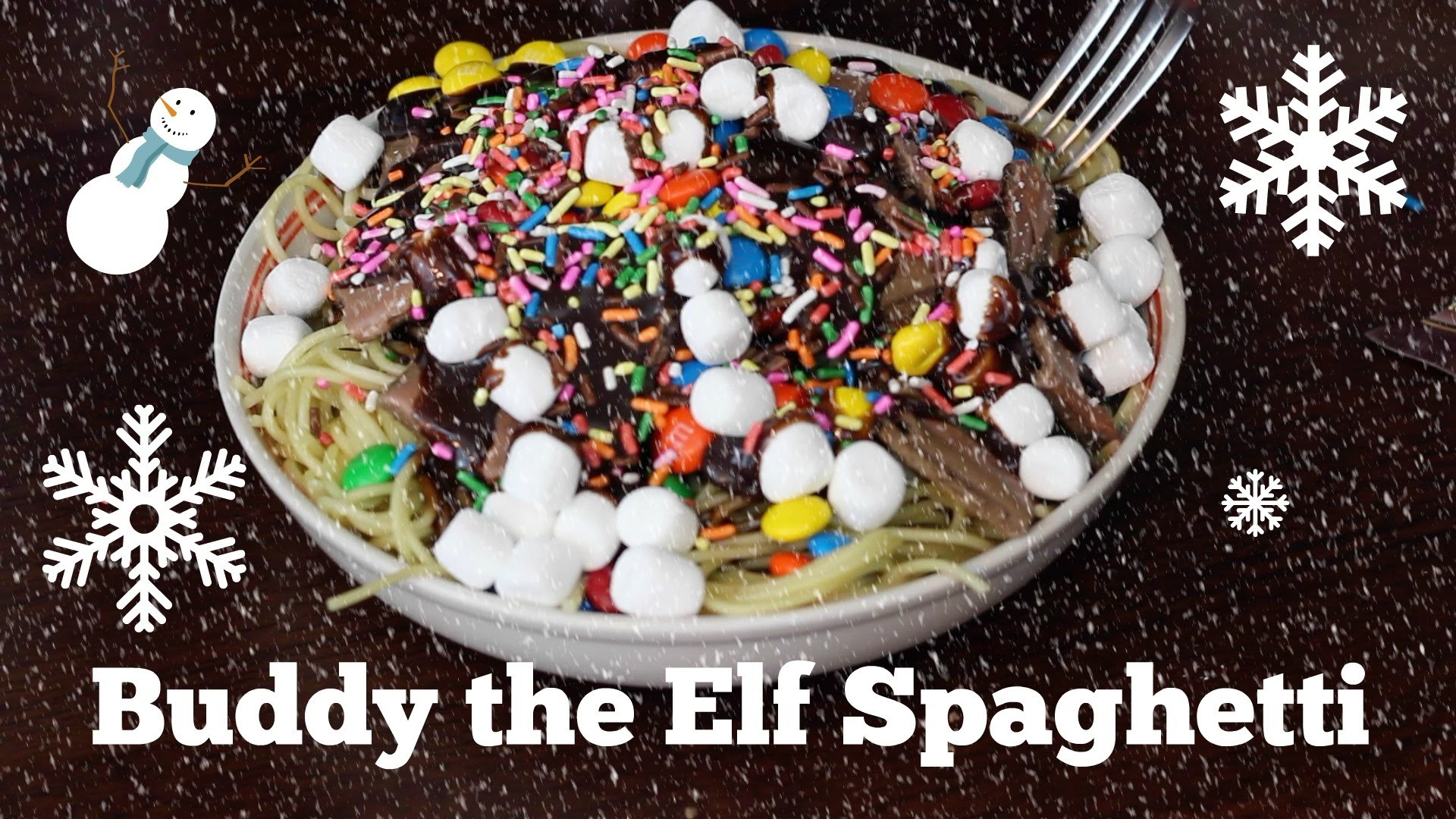 Buddy the Elf's Spaghetti challenge
