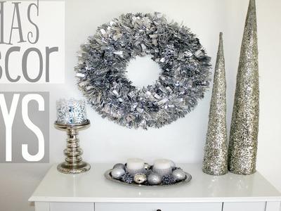 Christmas Decor DIYs - all Dollar Tree!