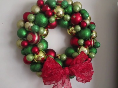 Day #4 DIY Ornament Wreaths
