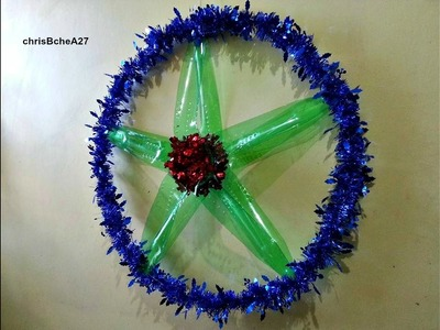 DIY# 51 Easy Big Xmas Lantern.Parol from Recycled Plastic Bottles