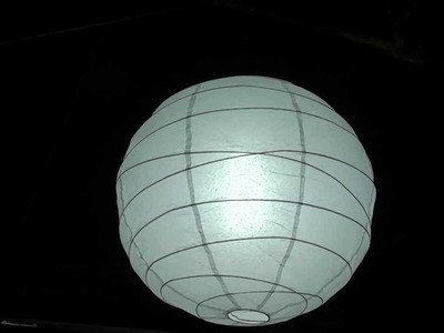 DIY China Ball for global lighting
