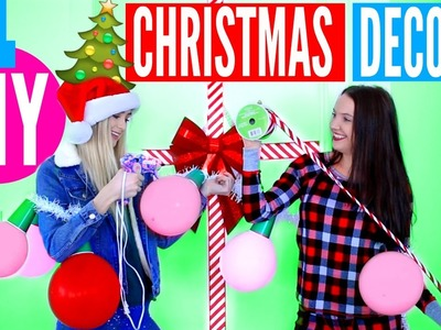 DIY Christmas Room DECOR! Easy Holiday Decor Ideas