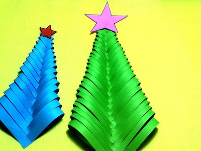 DIY Paper Christmas Tree || Christmas Tree Ornaments! Christmas Tree Decor