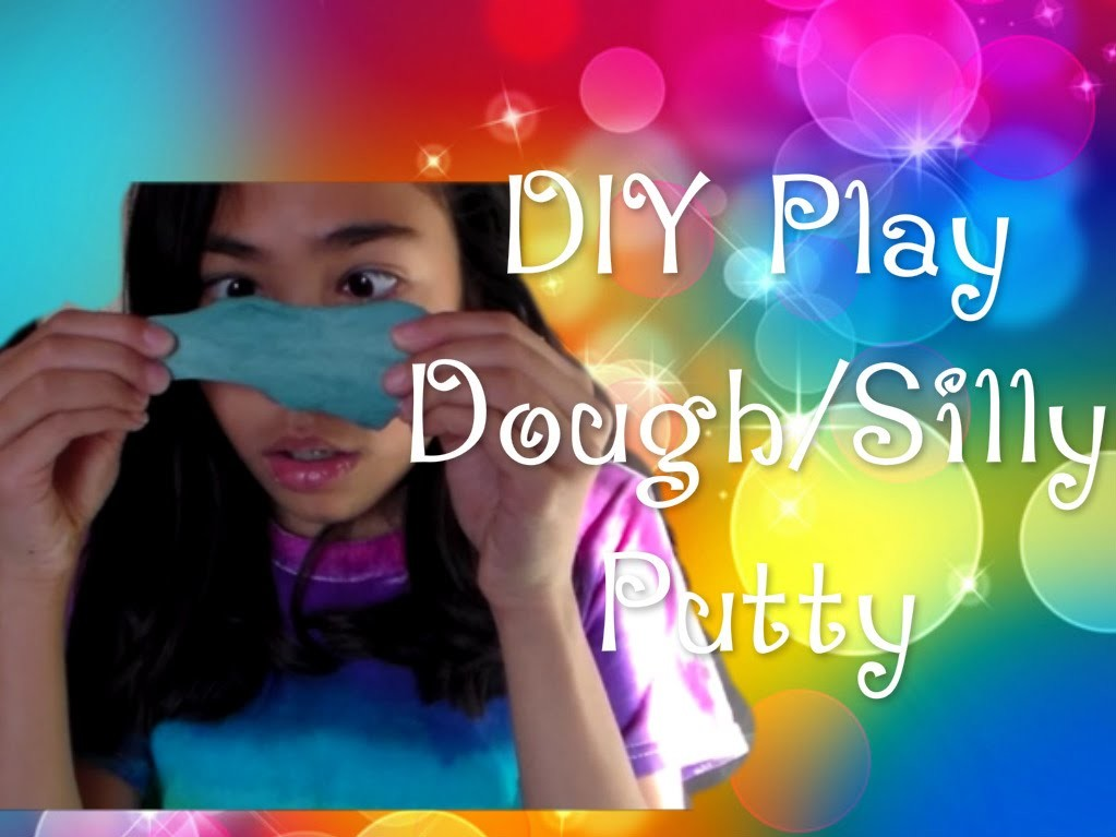 DIY Play Dough.Silly Putty! (no glue, borax, or liquid starch)