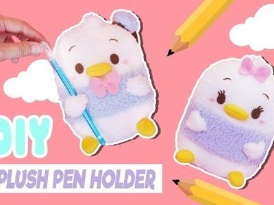 DIY Plush Pen Holder | CUTE Desk Decoration | Disney Ufufy Sock Plushie | Tiny Sparkles