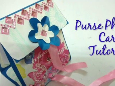 DIY Purse Photo Card Tutorial | How To | CraftLas