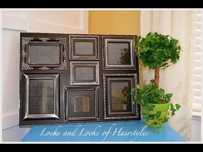 DIY Refinish Picture Frame