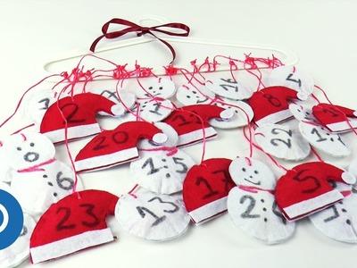 Easy DIY Advent Calendar Tutorial