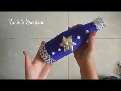 Flower Vase out of waste bottle | Best out of waste | Recycled Bottle Craft