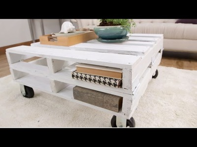 How to Create a Pallet Coffee Table in One Afternoon | Eye on Design