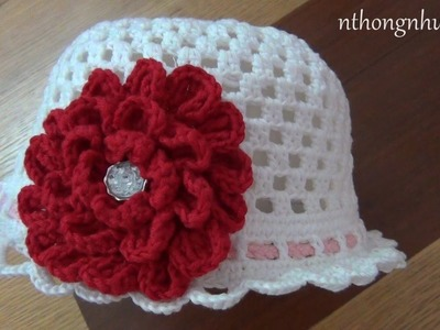 How to crochet a hat - Pattern 7 (engsub)