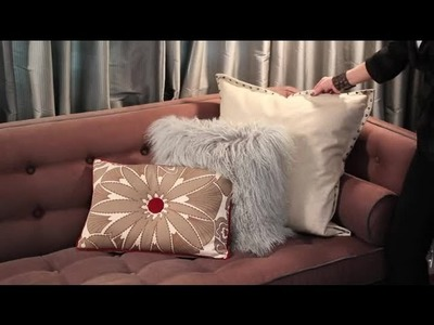 How to Decorate a Brown Sofa With Pillows : Easy Designing & Decorating Tips
