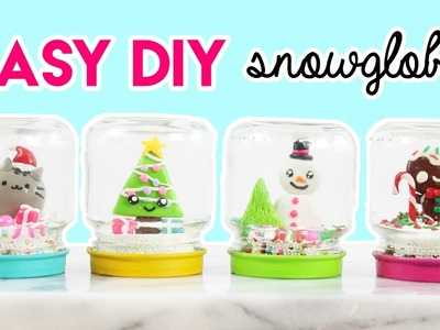 How to Make DIY Snowglobes!