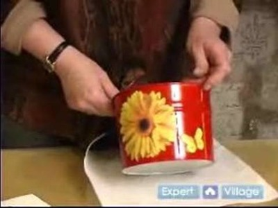 How to Make Unique Handmade Arts & Crafts : Handmade Metal Can Craft Project