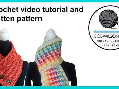 My scarf patterns and video tutorials