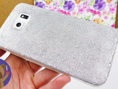 Phone Case | DIY Glitter Phone Case | Easy and neat