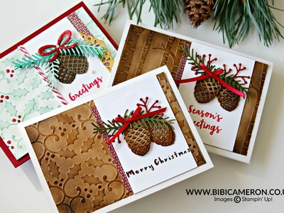 Pretty Pines Thinlits Dies by Stampin Up