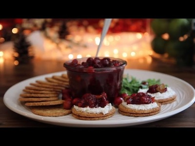 Thanksgiving Recipes - How to Make Cranberry, Apple, and Ginger Chutney