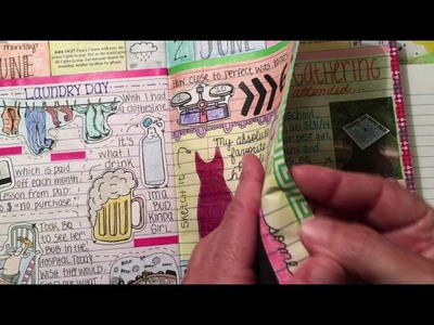 VR: How I prepare my altered composition book