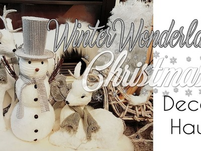 Winter Wonderland Christmas Decor Haul 2016
