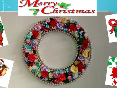 Christmas special :: How to make Christmas Wreath at home !!