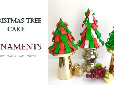 Christmas Tree Ornament Cake | How to make from Creative Cakes by Sharon
