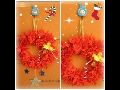 DIY Christmas Decorations-part1|| How to make garland-wreath