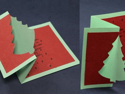 DIY Christmas Pop Up Cards - How to Make Pop Up Christmas Cards