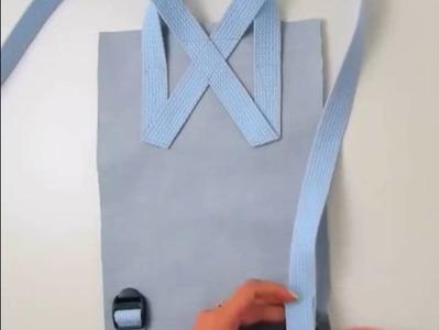 DIY How to make a mini backpack
