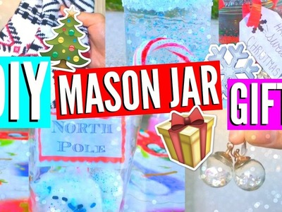 DIY Mason Jar Gifts + Essentials! Holidays 2016.EliseLife