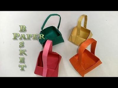 DIY - Paper Basket   Arts & Crafts   Origami Art