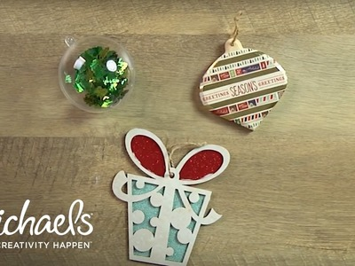 DIY Simple Holiday Ornaments | Michaels