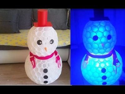 DIY SNOWMAN of CUPS | Amazing Holiday DIY Projects