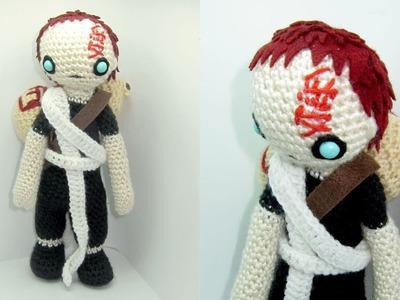 Gaara Amigurumi Crochet Tutorial Part 3