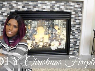 ♥ Glam Home ♥ Christmas Carol Inspired DIY ♥ This Christmas Fireplace
