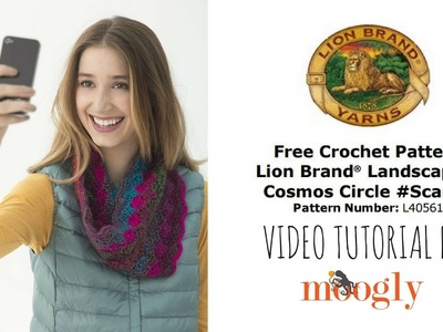 How to Crochet: Lion Brand Cosmos Circle Scarfie