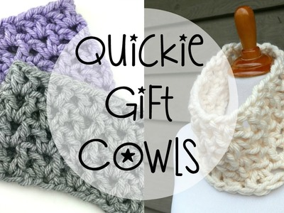 How To Crochet Quickie Gift Cowls, Episode 363