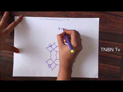 How to draw rangoli designs step by step | easy rangoli designs for beginners, kolam rangoli designs