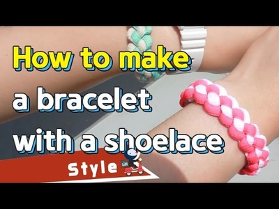 How to make a bracelet with a shoelace | sharehows