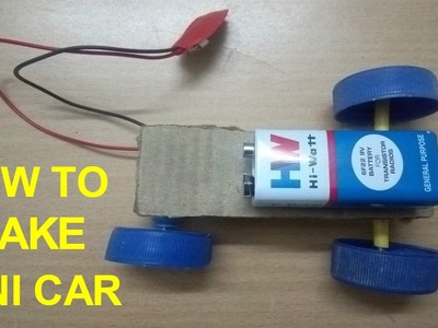 How To Make A Car at Home - Very Easy