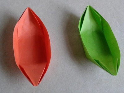 How to make a paper boat that floats easy   How to make a paper boat easy   paper boat for kids