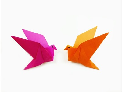 How to make a paper Flapping bird?