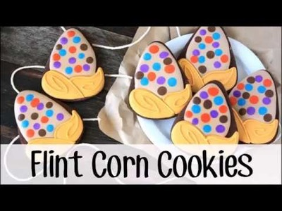 How to Make Decorated Flint (Indian) Corn Sugar Cookies