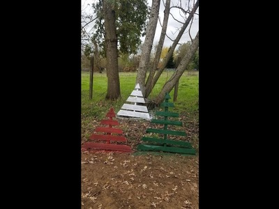 How to make Pallet Christmas Tree